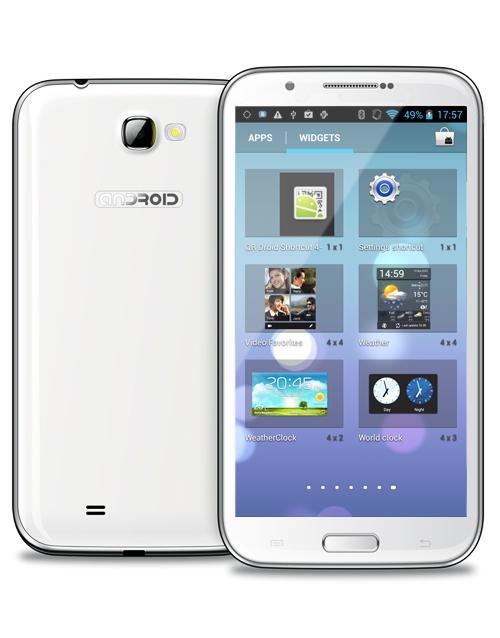 Ulefone N9589T 5.72 inch HD MT6589T Quad-core 1G RAM 8G ROM 8MP Camera