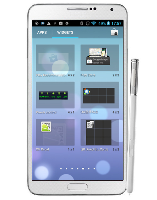 Firefly N9002 5.72 inch MT6582 Quad-core QHD 1280x720 1G RAM 8G ROM 8MP Cam front