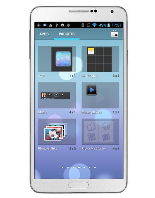 Firefly N9002 5.72 inch MT6582 Quad-core QHD 1280x720 1G RAM 8G ROM 8MP Cam yatay