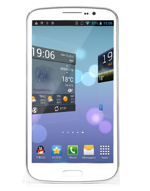 Firefly U650 6.44 inch HD MT6582 Quad-core 1G RAM 16G ROM 13MP Camera