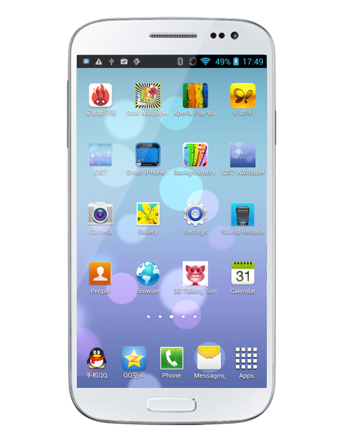 firefly U9592 S4 5 inch MT6592 octa-core 2G RAM 16G flash 8MP Camera