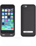 iPhone 6 battery case with card reader black 3200mAh 4