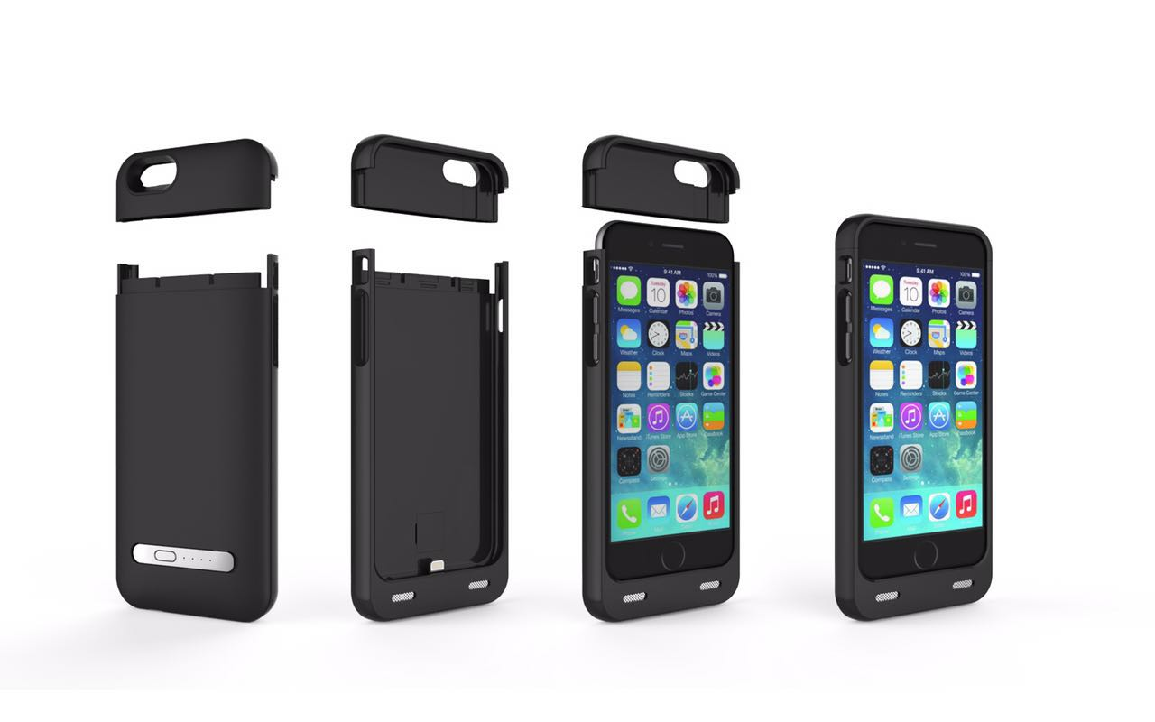 Battery Case with Card Reader for iPhone 6