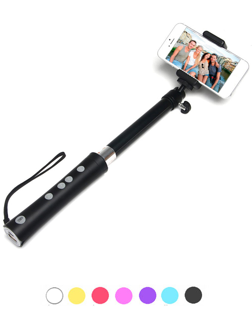 selfie stick battery charger with built in power bank. Black Bedroom Furniture Sets. Home Design Ideas