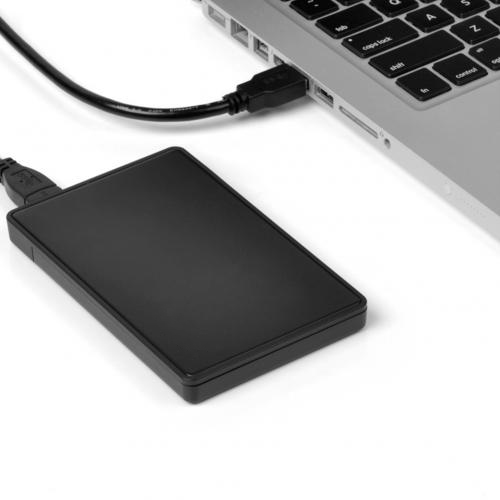 2.5 Inch USB 3.0 to SATA Hard Drive Disk External Enclosure firefly DS-B4 6