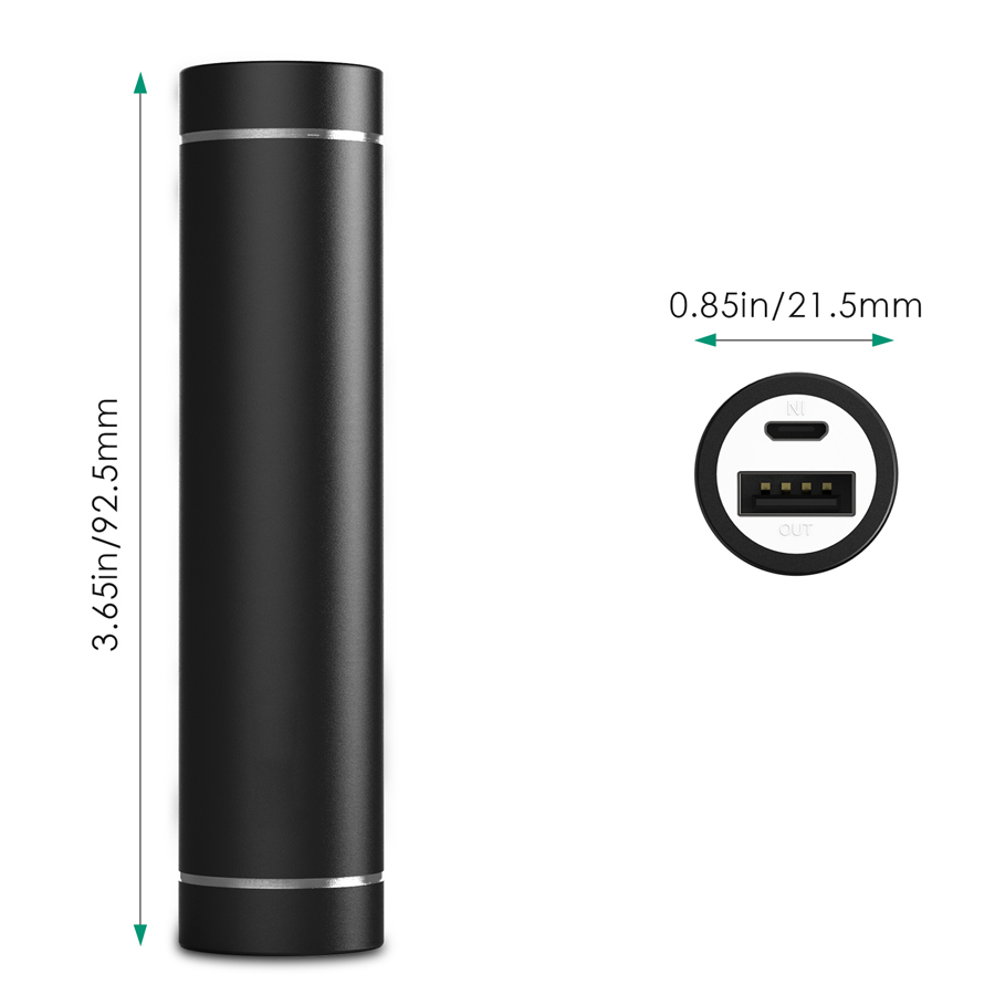3000 mAh Portable External Battery Pack quick charge firefly 4