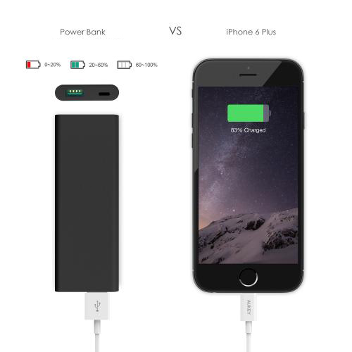 3600 mAh Slim Portable External Battery Pack firefly PE-N30 7