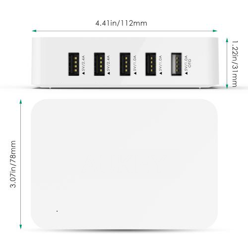 5-Ports USB Charging Station with OTG firefly 5