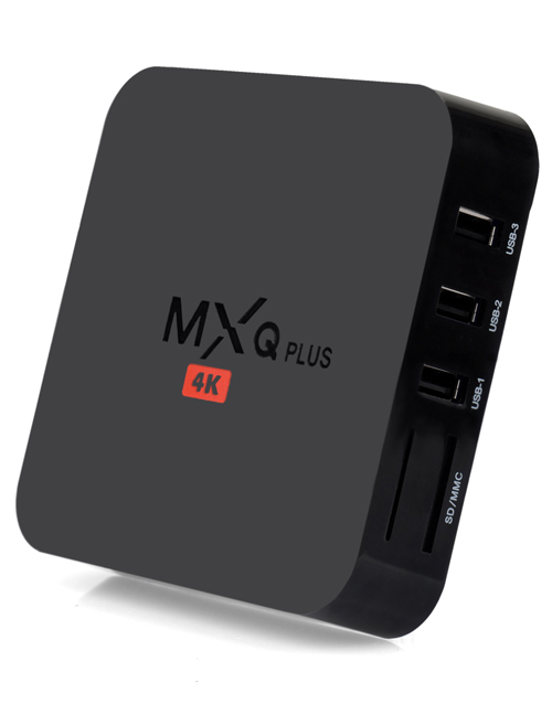 MXQ plus Android TV Box Amlogic s905 Quad core Cortex A53 2.0GHz 1GB 8GB WiFi HD 4K player factory China wholesale