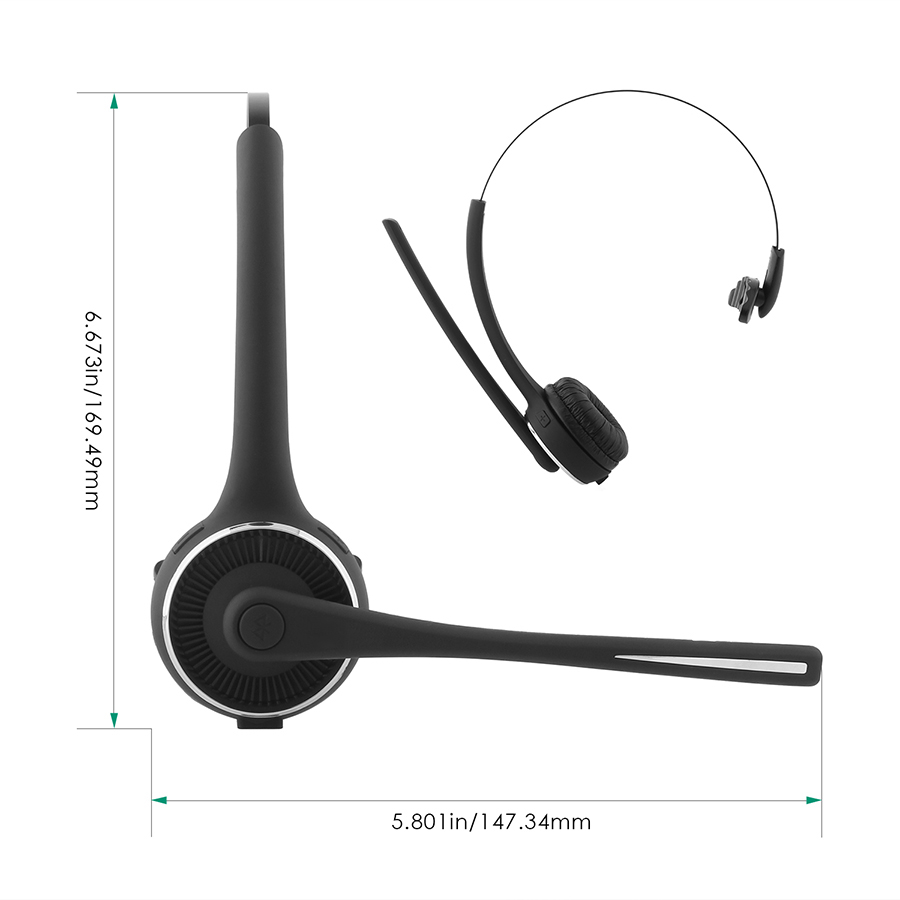 Over-the-head Wireless Bluetooth 4.0 Headphone firefly EF-B1 1