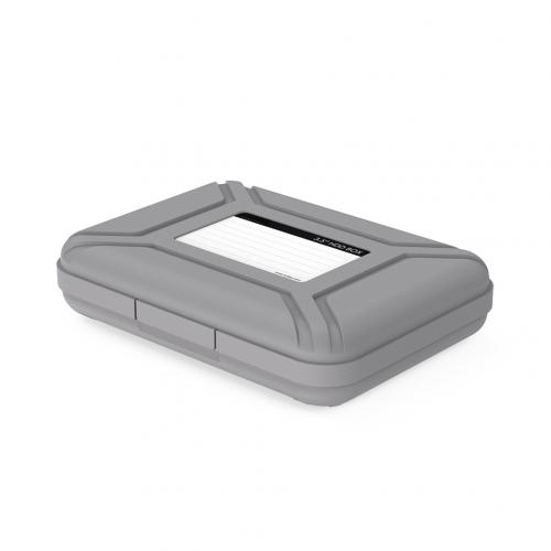 Premium 3.5 inch Hard Drive Protection Box HDD Storage Case Gray firefly DC-P1 7