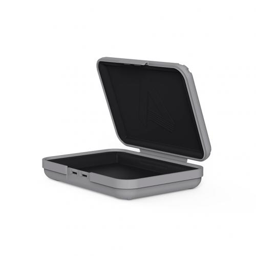 Premium 3.5 inch Hard Drive Protection Box HDD Storage Case Gray firefly DC-P1 9