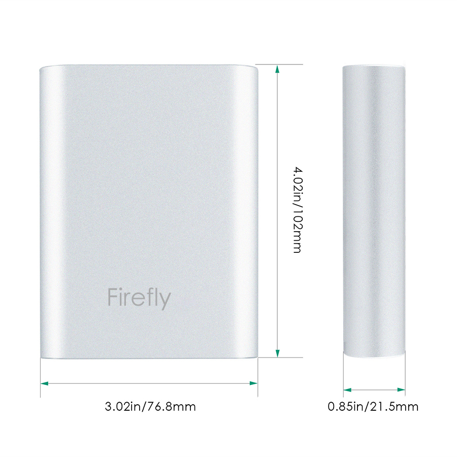 Qualcomm Quick Charge 2.0 10400mAh External Battery Charger firefly 11