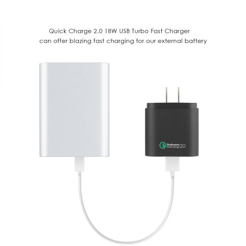 Qualcomm Quick Charge 2.0 10400mAh External Battery Charger firefly