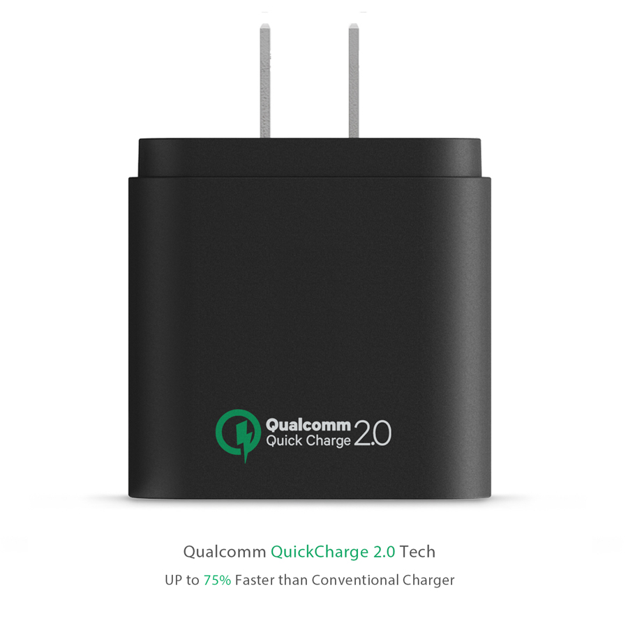 Qualcomm Quick Charge Turbo USB Universal Wall Charger Adapter firefly DC-W1 11