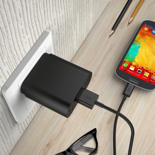 Qualcomm Quick Charge Turbo USB Universal Wall Charger Adapter firefly DC-W1 8