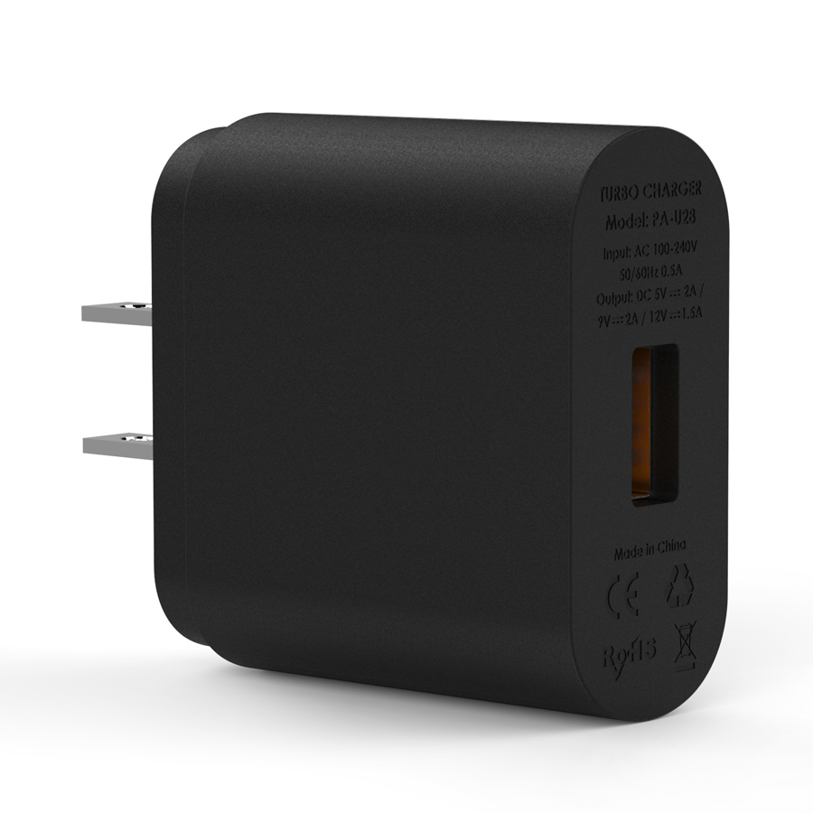 Qualcomm Quick Charge Turbo USB Universal Wall Charger Adapter firefly DC-W1 9
