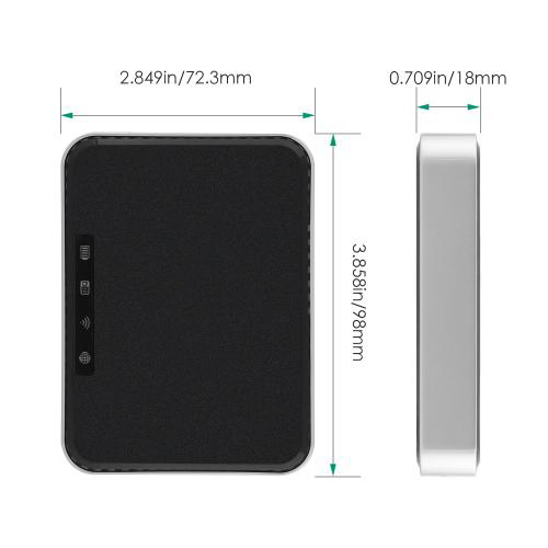 Router with 2600 mAh External Battery Charger and TF Card Reader Firefly WR-N2 4