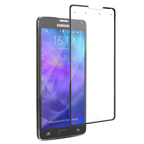 Smart Tempered-Glass Screen Protector for Samsung Note 4 Black Firefly SP-G21 13
