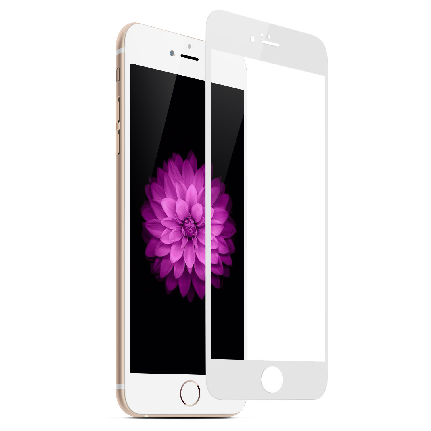 Tempered-Glass Screen Protector for iPhone 6 White Gold 4.7 inches firefly SP-G20 1