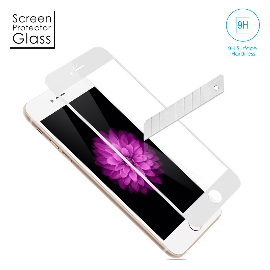 Tempered-Glass Screen Protector for iPhone 6 White Gold 4.7 inches firefly SP-G20 3