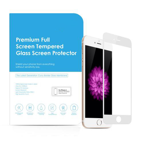 Tempered-Glass Screen Protector for iPhone 6 White Gold 4.7 inches firefly SP-G20 6