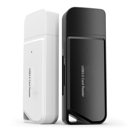 USB 3.0 TF SD Card Reader White Firefly 6