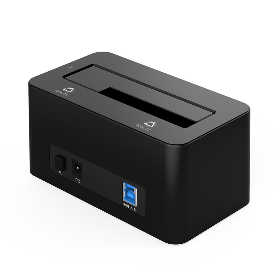 USB 3.0 to SATA Hard Drive Docking Station for 2.5 3.5 HDD SSD DS-B2 10