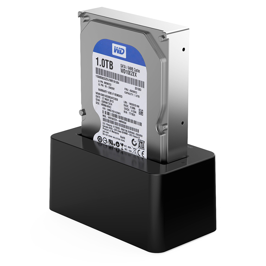 USB 3.0 to SATA Hard Drive Docking Station for 2.5 3.5 HDD SSD DS-B2 11