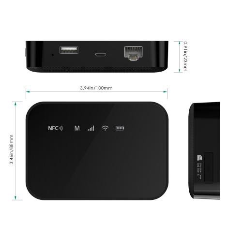 Wireless Travel Router 3G Modem with 5200 mAh Power Bank Firefly 8