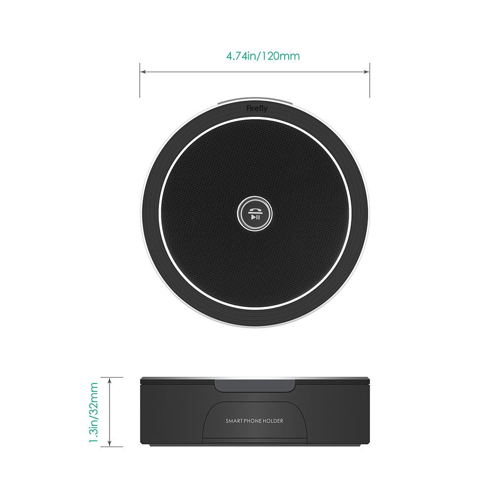 firefly BT015 Bluetooth Speaker Stand Black 2