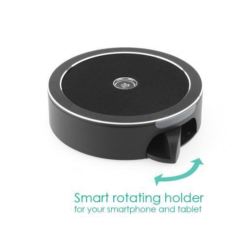 firefly BT015 Bluetooth Speaker Stand Black 6