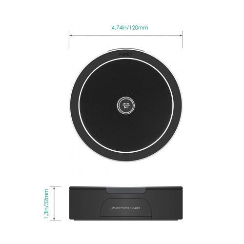 firefly BT015 Bluetooth Speaker Stand Black 9