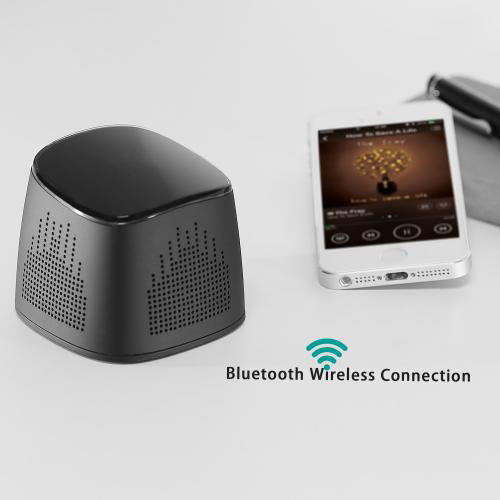firefly BT020 Wireless Portable Bluetooth Speaker with 2000 mAh Power Bank Black 5