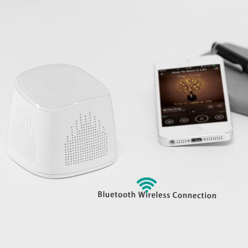 firefly BT021Wireless Portable Bluetooth Speaker with 2000 mAh Power Bank - White 5