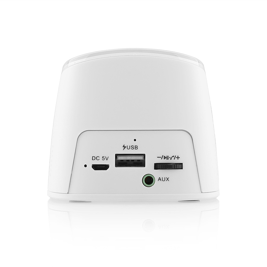 firefly BT021Wireless Portable Bluetooth Speaker with 2000 mAh Power Bank - White 8