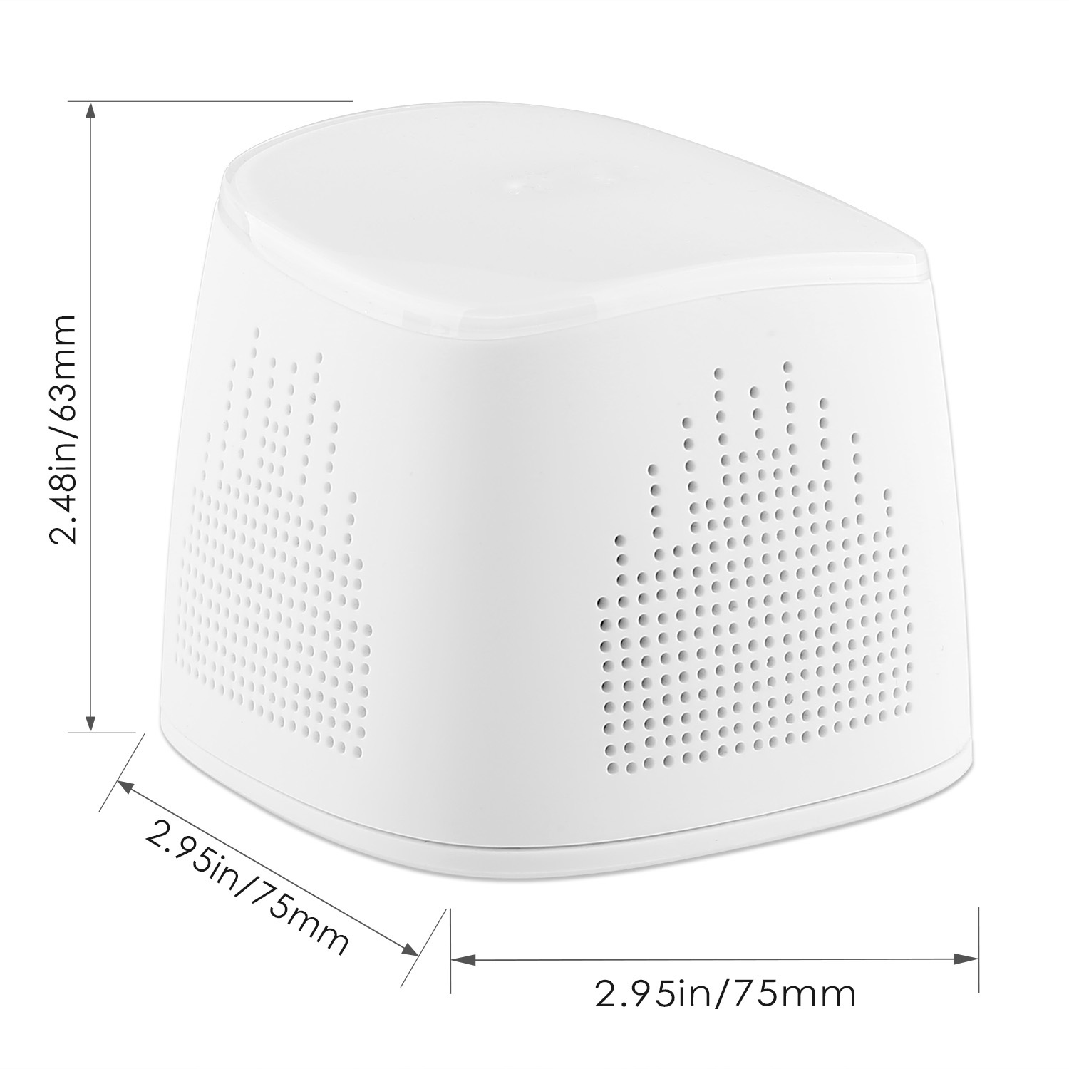 firefly BT021Wireless Portable Bluetooth Speaker with 2000 mAh Power Bank - White 9