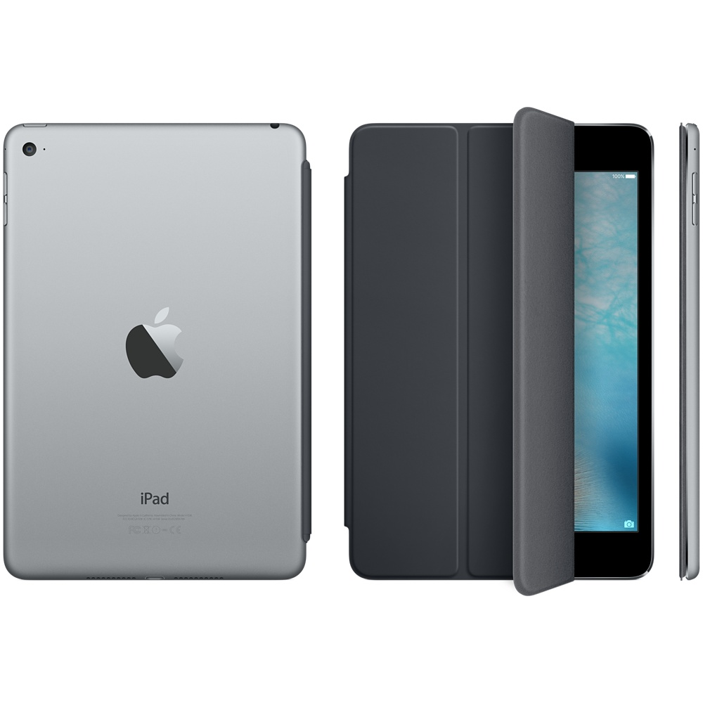 ipad mini 4 smart cover gray 4