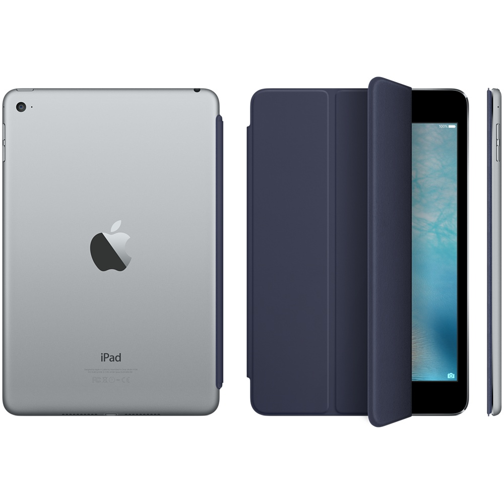 ipad mini 4 smart cover midnight blue 3