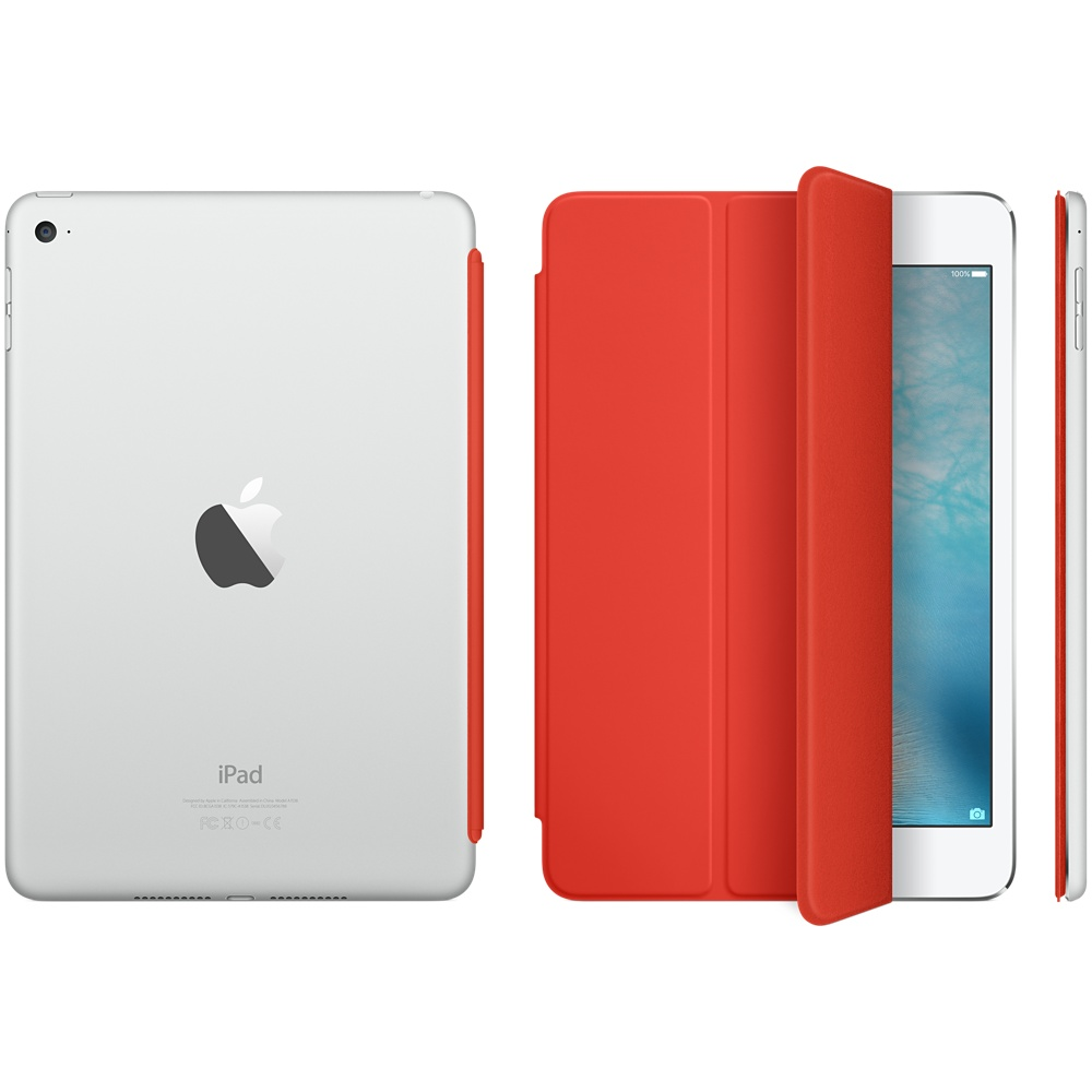 ipad mini 4 smart cover orange 3
