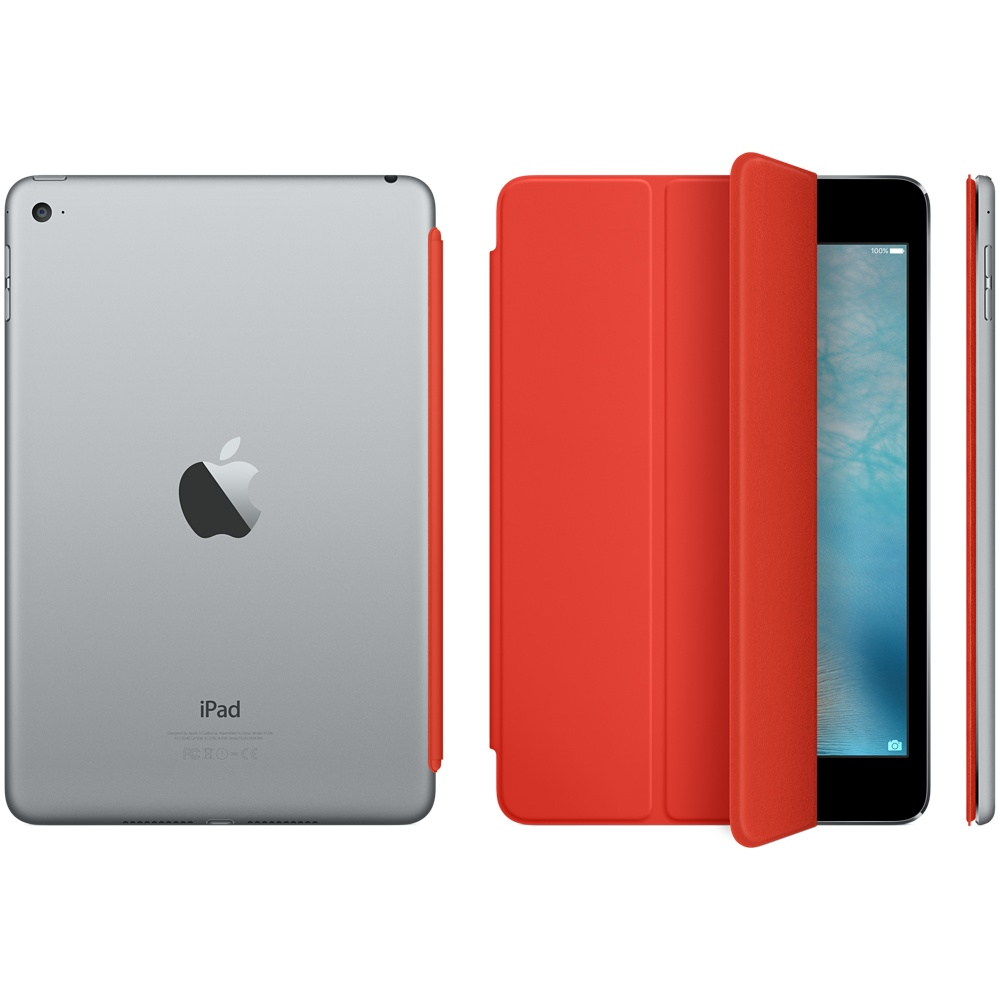 ipad mini 4 smart cover orange 4