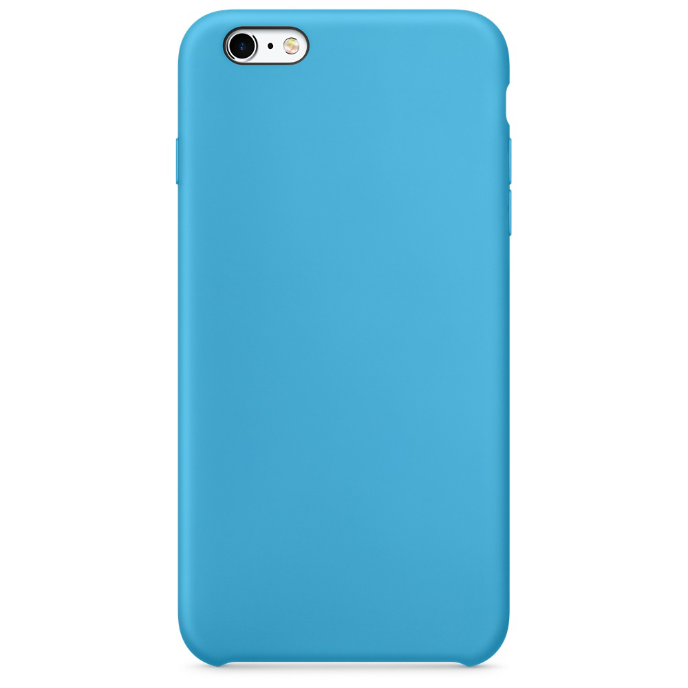 iphone 6s silicone case blue 1-1