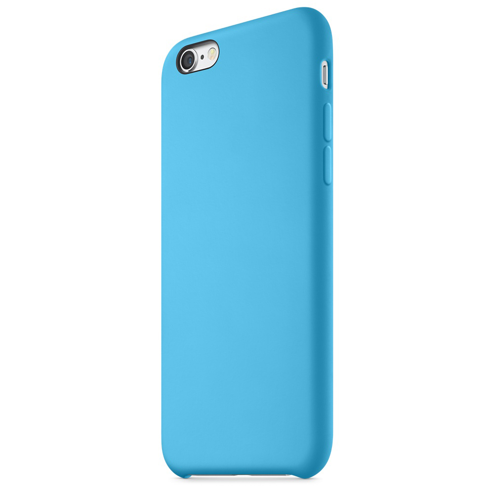 iphone 6s silicone case blue 6-6