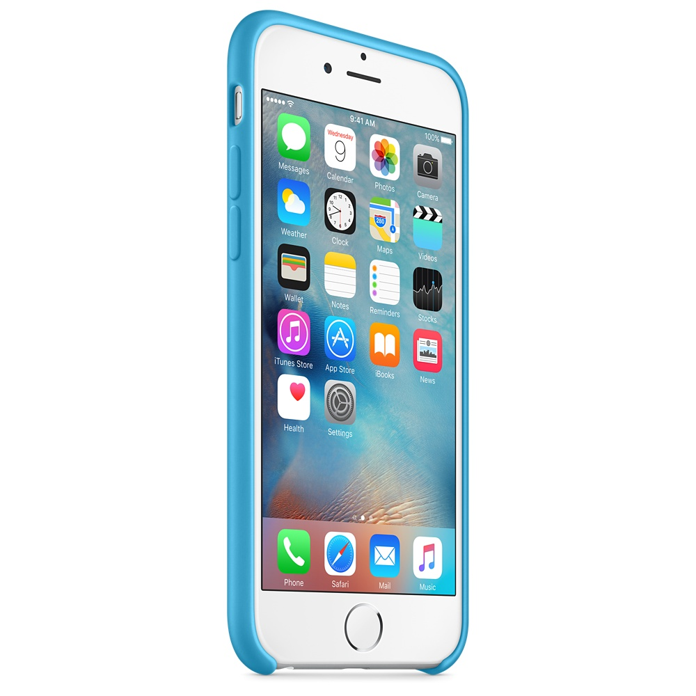 iphone 6s silicone case blue 7