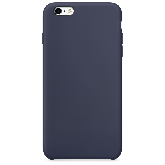 iphone 6s silicone case dark blue 1-1
