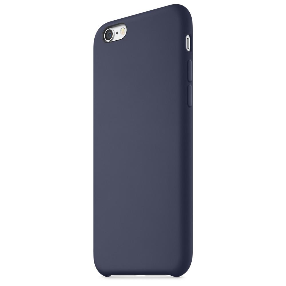 iphone 6s silicone case dark blue 6