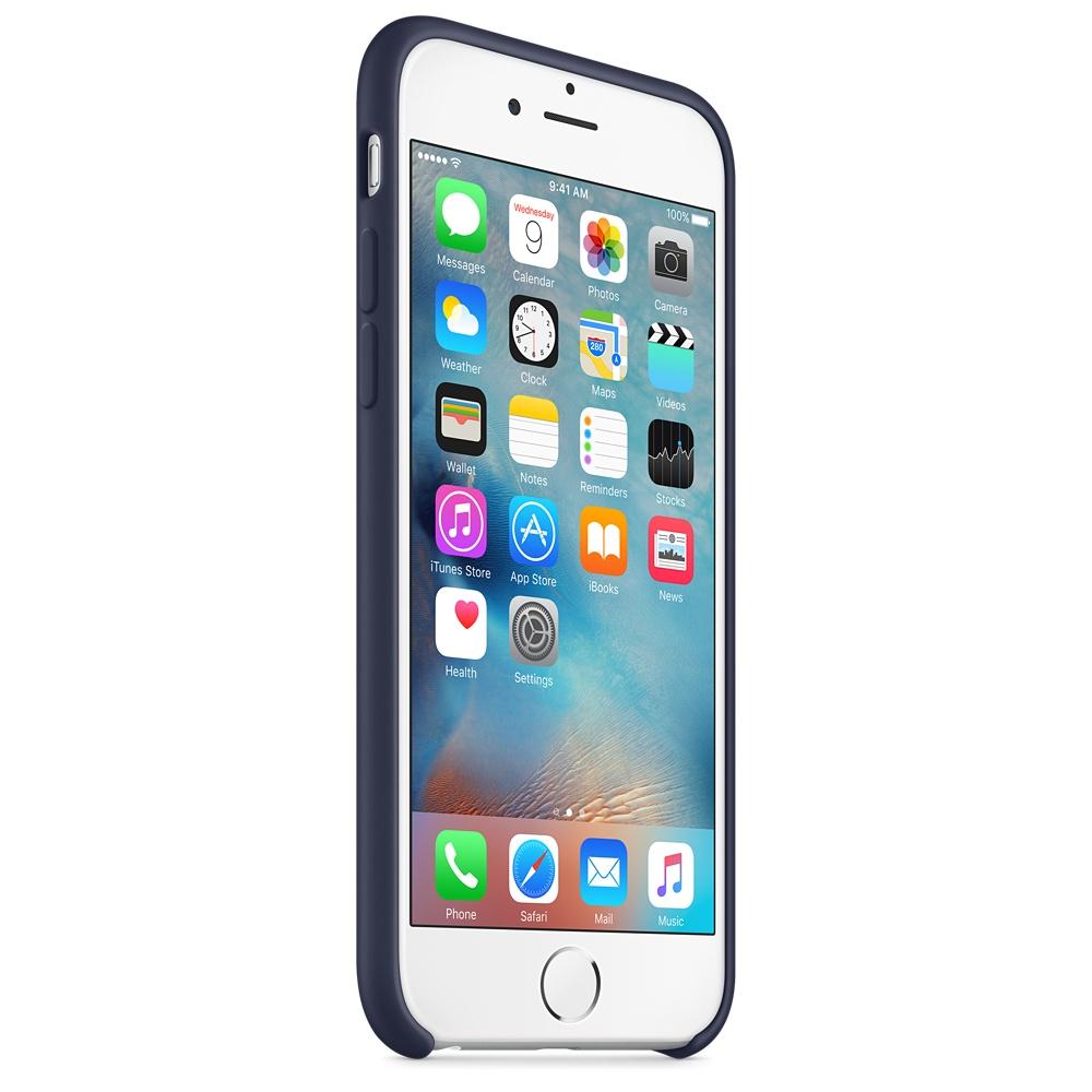iphone 6s silicone case dark blue 7