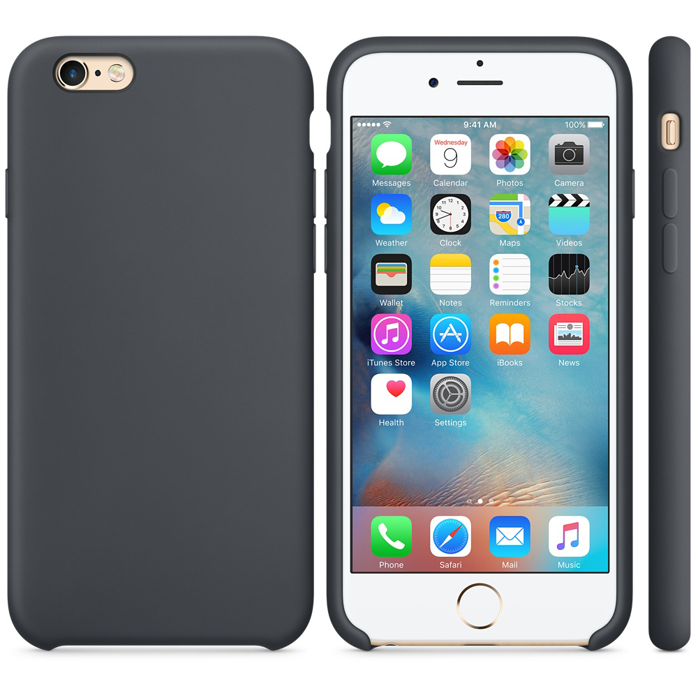 iphone 6s silicone case gray 2 1