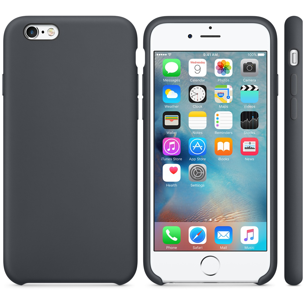 iphone 6s silicone case gray 4 1