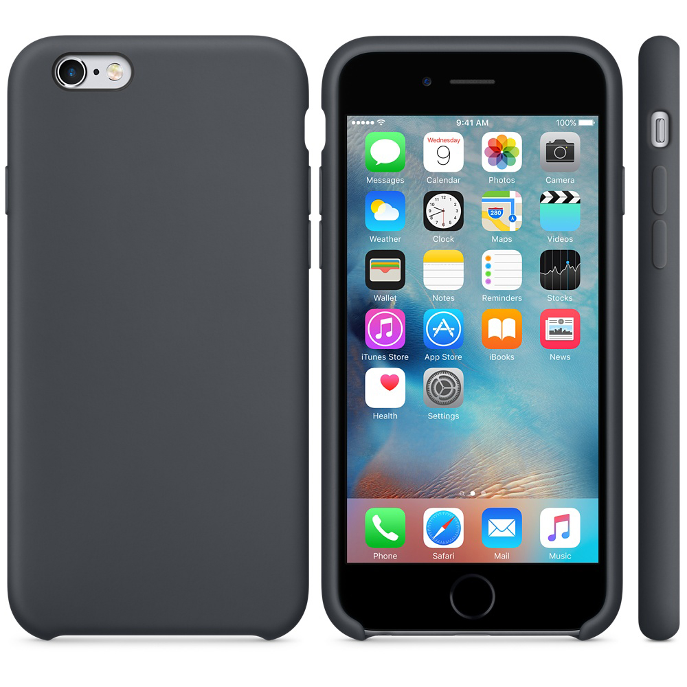 iphone 6s silicone case gray 5 1
